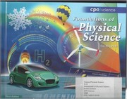 Cover of: CPO Science Foundations of Physical Science, Student Edition |