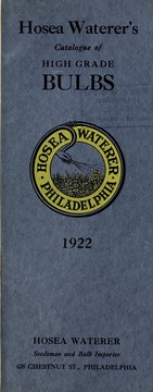 Cover of: Hosea Waterer