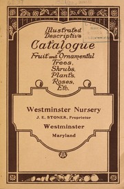 Cover of: Illustrated catalogue of ornamental trees, fruits, shrubs and plants