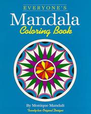 Cover of: Everyone's Mandala Coloring Book Vol. I (Everyone's Mandala Coloring Book)
