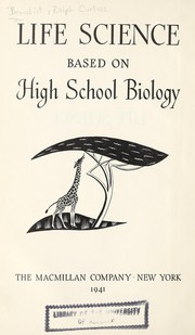 Cover of: Life science based on high school biology