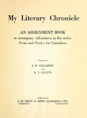 Cover of: Prose and poetry for Canadians | John West Chalmers