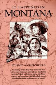 Cover of: It happened in Montana