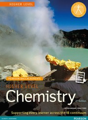 Cover of: Chemistry Higher Level (Pearson Baccalaureate, 2nd Edition) |