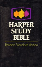 Cover of: Harper Study Bible |