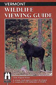 Vermont wildlife viewing guide by Cindy Kilgore Brown