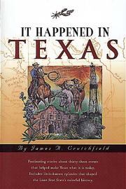 Cover of: It happened in Texas