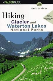 Cover of: Hiking Glacier and Waterton Lakes National Parks