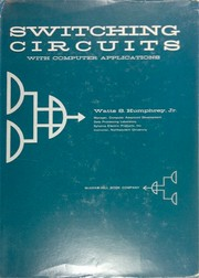 Cover of: Switching circuits with computer applications