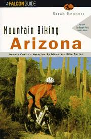 Cover of: Mountain biking Arizona | Sarah Bennett Alley