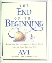 Cover of: The end of the beginning | Avi