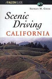 Cover of: California scenic drives