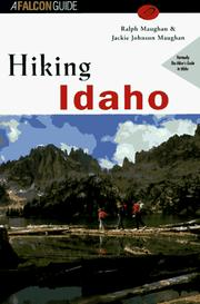 Cover of: Hiking Idaho