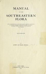 Cover of: Manual of the southeastern flora