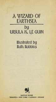 Cover of: A  wizard of Earthsea | Ursula K. Le Guin