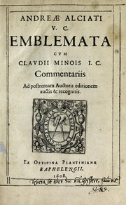 Cover of: Emblemata