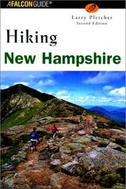 Cover of: Hiking New Hampshire | Larry Pletcher