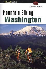 Cover of: Mountain Biking Washington