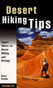 Cover of: Desert Hiking Tips | Bruce Grubbs