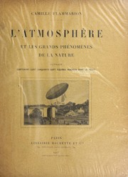 Cover of: L'atmosphe  re et les grands phe nome  nes de la nature