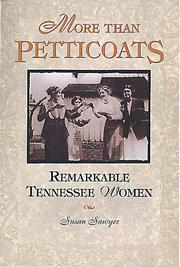 Cover of: More than petticoats