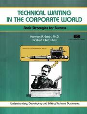 Cover of: Technical writing in the corporate world