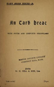 Cover of: An tarḃ breac