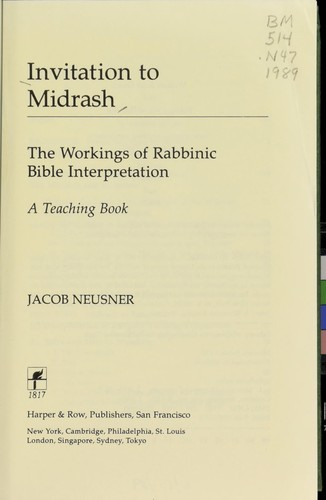 Invitation to Midrash