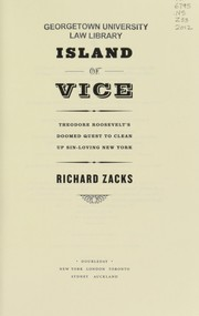 Cover of: Island of vice