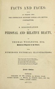 Cover of: Facts & faces | Thomas Woolnoth