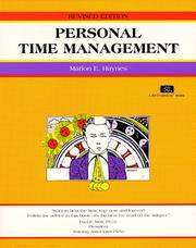 Cover of: Personal Time Management