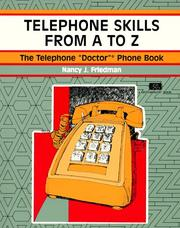 Cover of: Telephone Skills from A to Z | Nancy J. Friedman