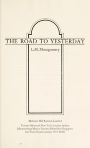 Cover of: The road to yesterday
