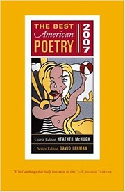Cover of: The Best American Poetry 2007