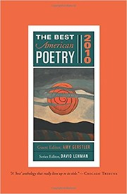 Cover of: The Best American Poetry 2010