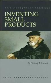 Cover of: Inventing Small Products