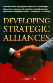 Cover of: Developing strategic alliances