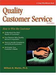 Cover of: Crisp: Quality Customer Service