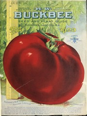 Cover of: H.W. Buckbee seed and plant guide | H.W. Buckbee (Firm)