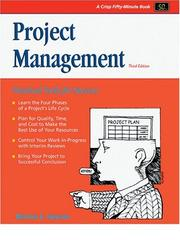 Cover of: Project Management:A Practical Guide for Success (50 Minute Books)