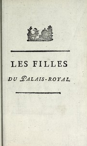 Cover of: Le Palais Royal