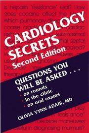Cover of: Cardiology Secrets