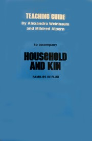 Cover of: Teaching Guide to Accompany Household and Kin: Families in Flux