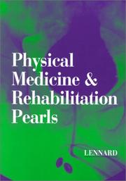 Cover of: Physical Medicine & Rehabilitation Pearls