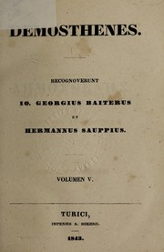 Cover of: Oratores Attici