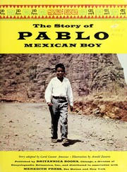 Cover of: The story of Pablo, Mexican boy. | Carol Connor Amescua
