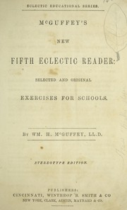Cover of: McGuffey's new fourth-fifth eclectic reader