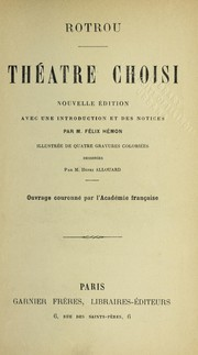 Cover of: The a tre choisi