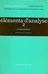 Cover of: Éléments d'analyse