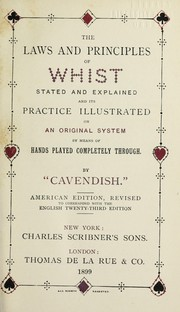 Cover of: The laws and principles of whist | Cavendish